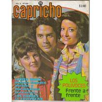 Fotonovela Capricho: Javier Ruan, Beatriz Velasco, Martha C.