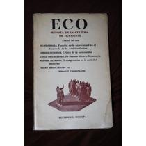 Eco Revista De La Cultura De Occidente Enero De 1966