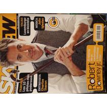 Revista Sky View Portada Robert Downey Jr De Coleccion
