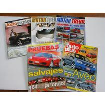 5 Revistas De Autos Por 160 Pesos