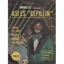 Cepillin En Impacto, Revista De 1977, Número Especial