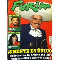 Vicente Fernandez Susana Zabaleta Revista Furia