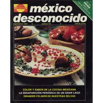 Revistas De México Desconocido, Con Suplemento En Ingles