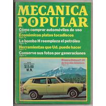 Revista Mecánica Popular Mexico Nissan Datsun F-10 1976
