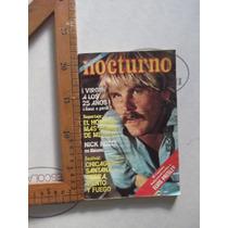 Nocturno,n.350 Ed. Mex-ameris Octubre De 1977,nick Nolte