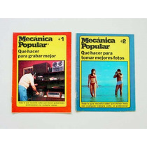 Mecánica Popular, Colección 12 Mini Fascículos Diferentes