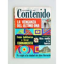 Contenido Revista, La Venganza Del Último Ona, Etc.