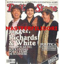 Mick Jagger Keith Richards Jack White Rolling Stone Mexico