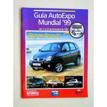 Guía Auto Expo Mundial 99, Ejemplar De Colección