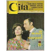 Fotonovela Cita # 21 Alma Delia Fuentes Enrique Aguilar 1967