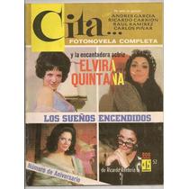 Fotonovela Cita 1er Aniv Elvira Quintana Ricardo Carrion1967