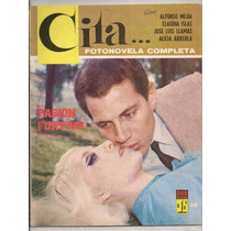 Fotonovela Cita # 28 Claudia Islas Alfonso Mejía 1967