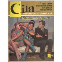 Fotonovela Cita # 36 Susana Cabrera Mamá A Go Go 1967