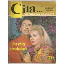 Fotonovela Cita # 37 Gina Romand Xavier Loya 1967