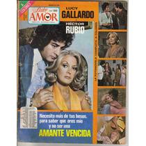 Lucy Gallardo Y Hector Rubio, En: Fotonovela Dulce Amor