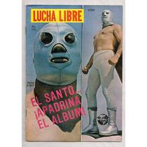 Revista Lucha Libre México El Santo Estampas Album 1987