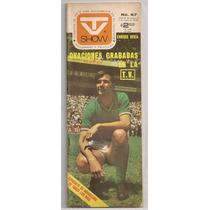Revista Tvshow Futbol Mundial México 1970