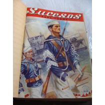 Libro Antiguo Año 1943 , Empastado Revista Sucesos Para Todo