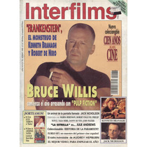 Bruce Willis En Interfilms, Revista De 1995