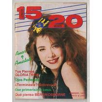 Gloria Trevi Revista 15 A 20 De 1991
