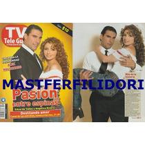 Angelica Rivera & Eduardo Yañez Revista Teleguia Enero 2007