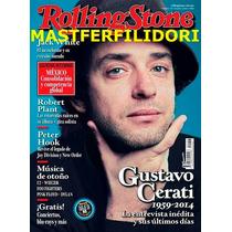 Gustavo Cerati Revista Rolling Stone Mexico 2014 Soda Stereo