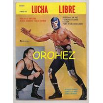 Revista Lucha Libre México Blue Demon Black Shadow 1987