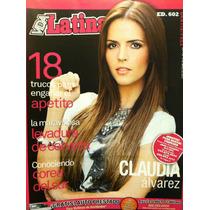 Claudia Alvarez Revista Vida Latina