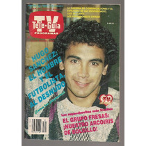 Teleguía Hugo Sánchez Fresas Con Crema Mariana Levy 1987