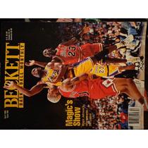 Revista Beckett Portada Magic Johnson De Coleccion Lakers 32