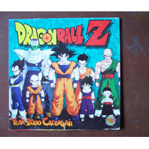 Dragon Ball Z-calendario Año 2000