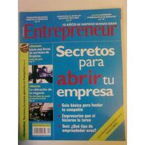 Revista Entrepreneur. Secretos Para Abrir Tu Empresa.