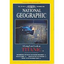 National Geographic December 86: Redescubriendo El Titanic!