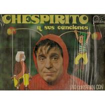 El Chavo Chapulín Chilindrina Lote 4 Discos Lp Vinil De 1976