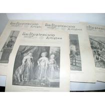 Kcg Revista Del Año 1907 La Ilustracion Artistica