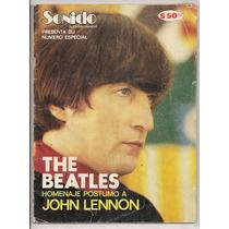 Revista Sonido Beatles Especial Muerte John Lennon De 1981