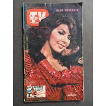 1979 Olga Breeskin Sexy Revista Tele Guia