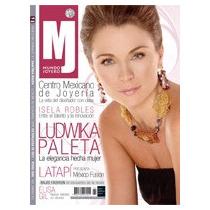 Ludvika Paleta,revista Mundo Joyero