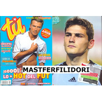 David Beckham Iker Casillas Rafael Marquez Tu Mayo 2006