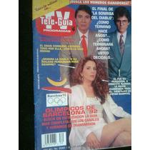 Tele Guia La Sonrisa Del Diablo Antigua Revista Vv4