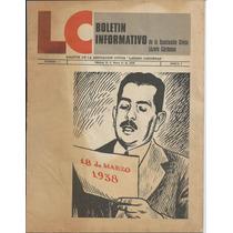 Boletín Informativo De La Asociación Cívica Lázaro Cárdenas