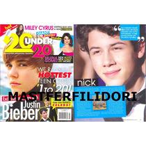 Justin Bieber Nick Jonas Brotheres Selena Gomez Miley Cyrus