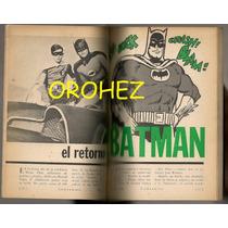 Revista Contenido Batman Y Robin 1966