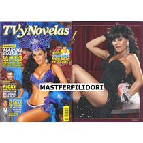 Maribel Guardia Revista Tvynovelas Febrero 2009 Thalia Mmu