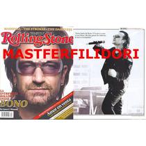 Bono U2 Revista Rolling Stone Mexico # 40 Febrero 2006