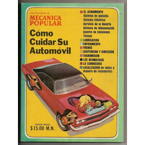 2 Revistas Mecánica Popular Especiales Cuidar Su Auto 1975
