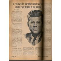 Muerte John F. Kennedy Revista De Policía Diciembre 1963