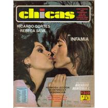 Rebeca Silva En:fotonovela Chicas (t.grande)#345 $95.00(1975