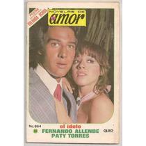 Fernando Allende Paty Torres En Fotonovela De 1977