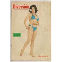 María Sorté Preciosa En Revista Diversión De 1978